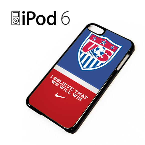 US Soccer Logo TY - iPod 6 Case - Tatumcase