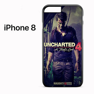 Uncharted 4 Video games - iPhone 8 Case - Tatumcase