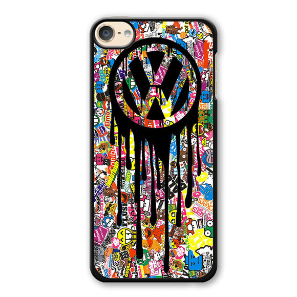 VW Volkswagen Bomb Sticker Phonecase Cover Case For Apple Ipod 4 Ipod 5 Ipod 6