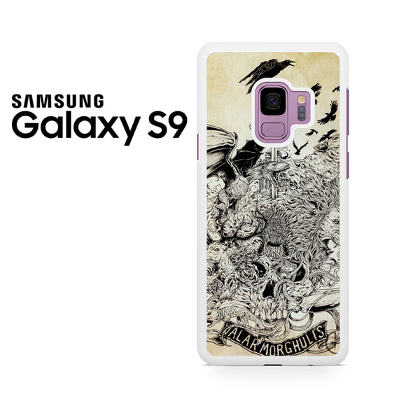 Valar morghulis game of thrones - Samsung Galaxy S9 Case - Tatumcase