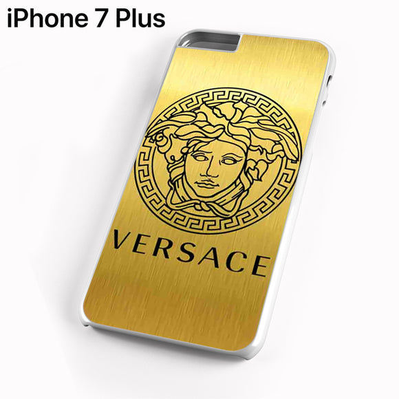 Versace Logo Gold TY - iPhone 7 Plus Case - Tatumcase