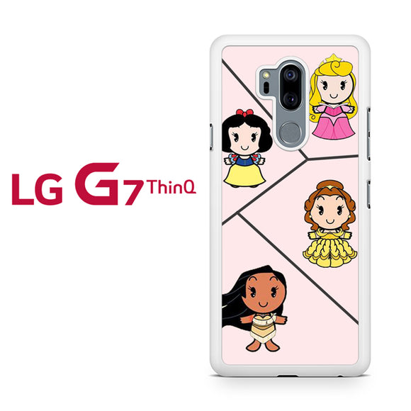 Very Cute Disney Princesses, LG G7 ThinQ Case, Tatumcase