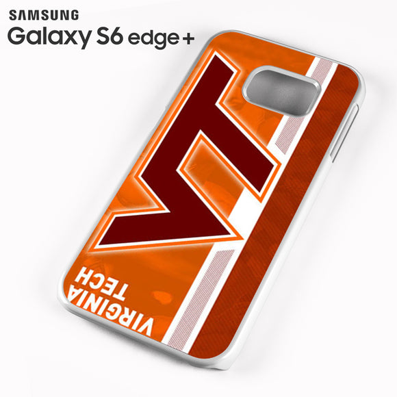 Virginia Tech Stripe - Samsung Galaxy S6 Edge Plus Case - Tatumcase