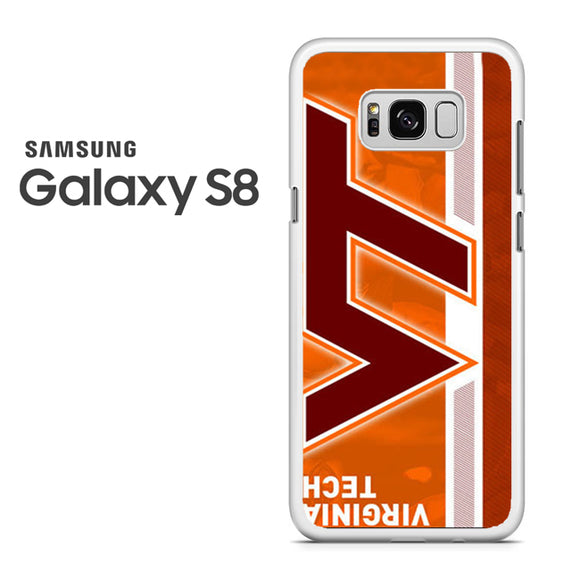 Virginia Tech Stripe - Samsung Galaxy S8 Case - Tatumcase