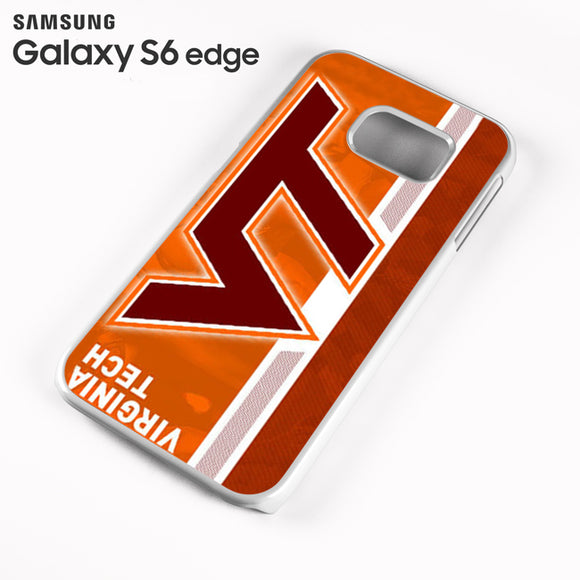 Virginia Tech Stripe - Samsung Galaxy S6 Edge Case - Tatumcase