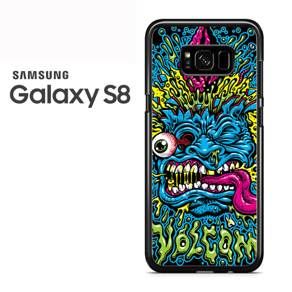 Volcom Face Jimbo Phillips - Samsung Galaxy S8 Case - Tatumcase