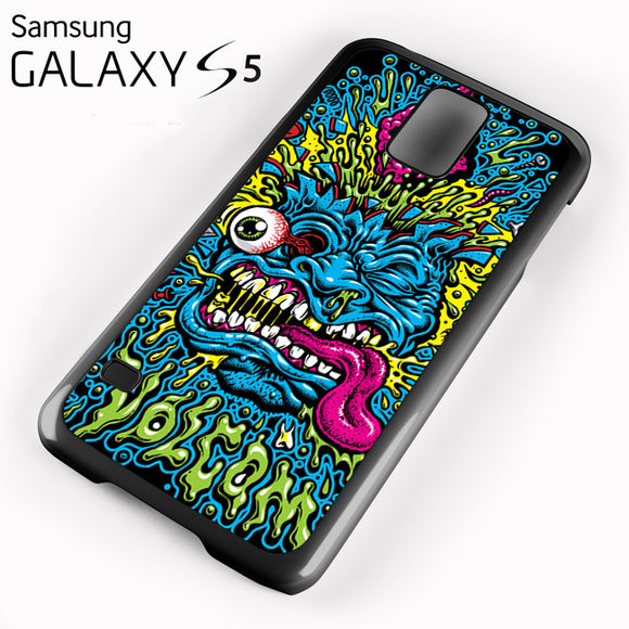 Volcom Face Jimbo Phillips - Samsung Galaxy S5 Case - Tatumcase