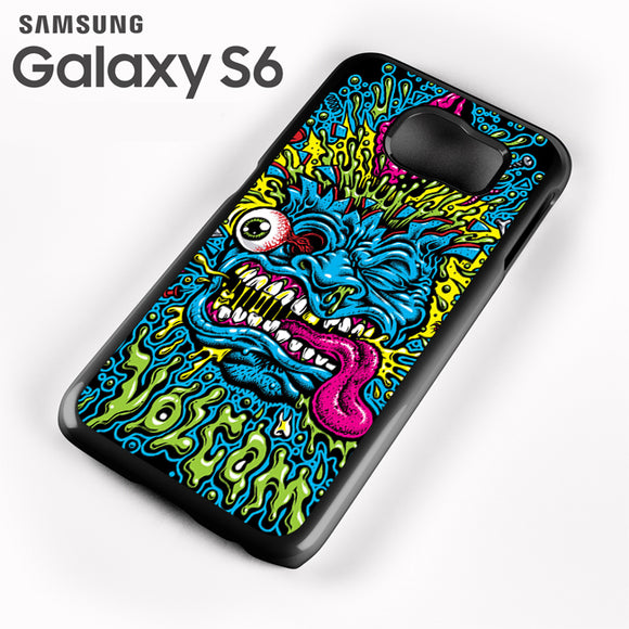 Volcom Face Jimbo Phillips - Samsung Galaxy S6 Case - Tatumcase
