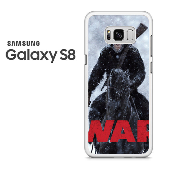 War for the planet of the apes TY - Samsung Galaxy S8 Case - Tatumcase