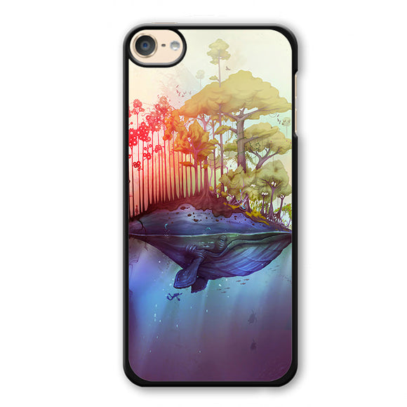 Whale Spirit Earth Thiago Neumann Phonecase Cover Case For Apple Ipod 4 Ipod 5 Ipod 6