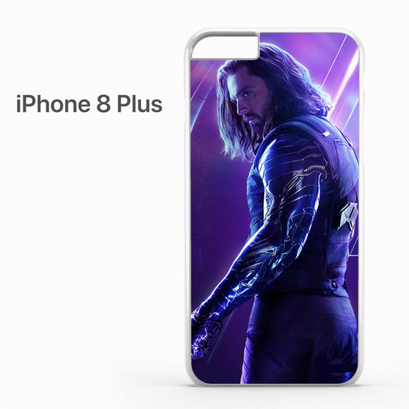 Winter Soldier Avenger Infinity War AB - iPhone 8 Plus Case - Tatumcase