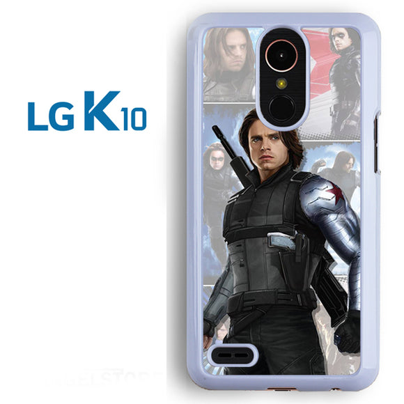 Winter Soldier Bucky AB - LG K10 Case - Tatumcase