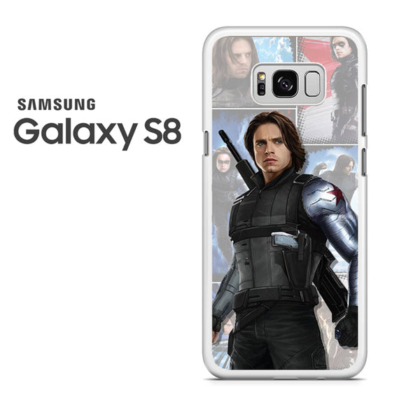 Winter Soldier Bucky AB - Samsung Galaxy S8 Case - Tatumcase