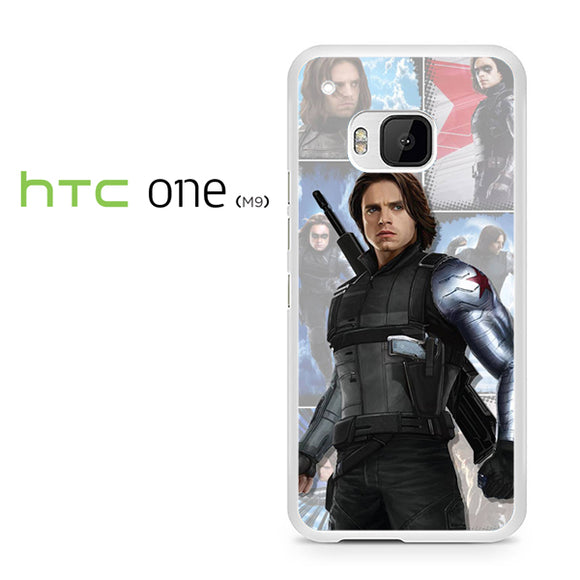 Winter Soldier Bucky AB - HTC M9 Case - Tatumcase