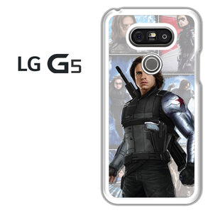 Winter Soldier Bucky AB - LG G5 Case - Tatumcase