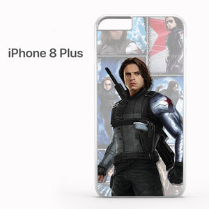 Winter Soldier Bucky AB - iPhone 8 Plus Case - Tatumcase