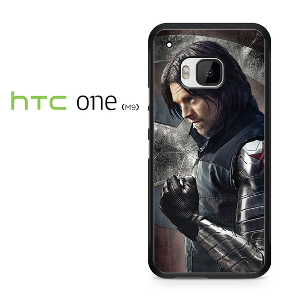 Winter soldier metal arm - HTC M9 Case - Tatumcase