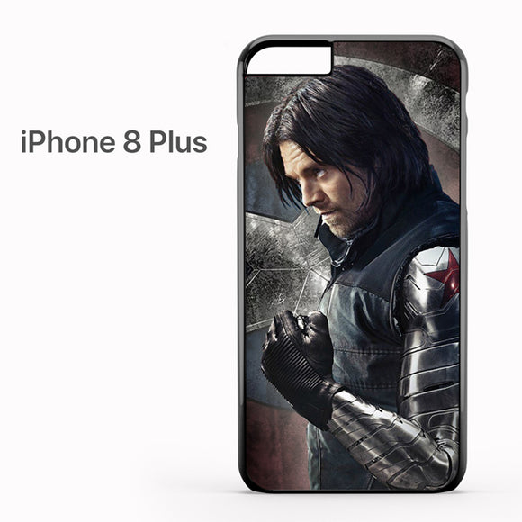 Winter soldier metal arm - iPhone 8 Plus Case - Tatumcase