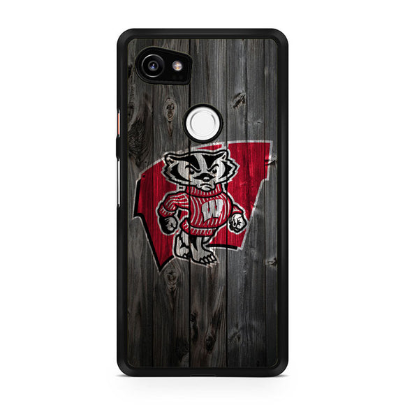 Wisconsin Badgers American Football 2 AA, Custom Phone Case, Google Pixel 2 XL Case, Pixel 2 XL Case, Tatumcase