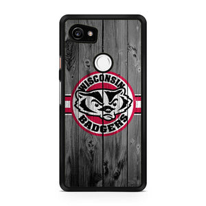 Wisconsin Badgers American Football AA, Custom Phone Case, Google Pixel 2 XL Case, Pixel 2 XL Case, Tatumcase