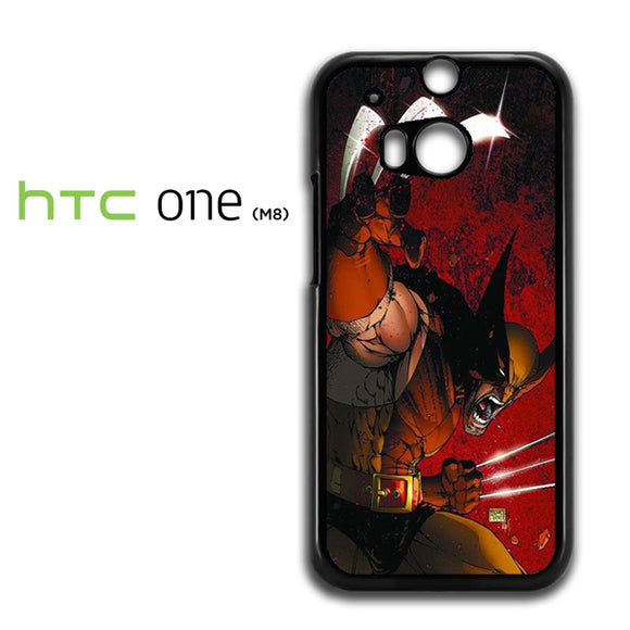 Wolverine Gets Angry - HTC M8 Case - Tatumcase