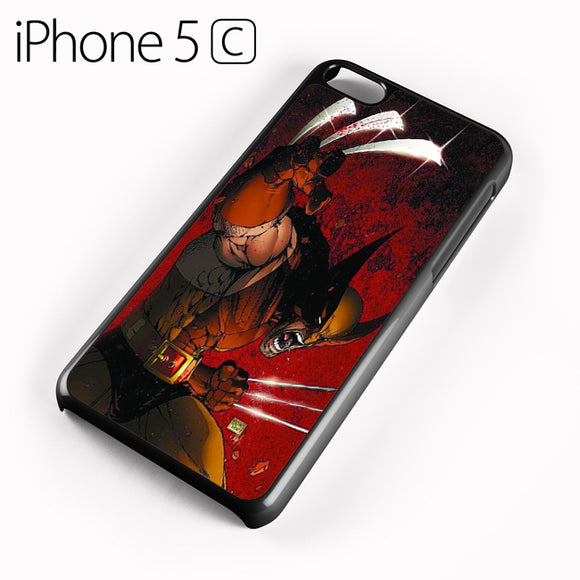 Wolverine Gets Angry - iPhone 5C Case - Tatumcase
