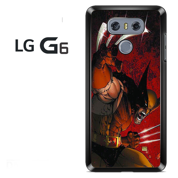 Wolverine Gets Angry - LG G6 Case - Tatumcase