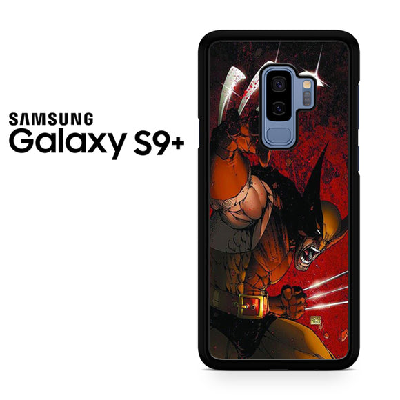 Wolverine Gets Angry - Samsung Galaxy S9 Plus Case - Tatumcase