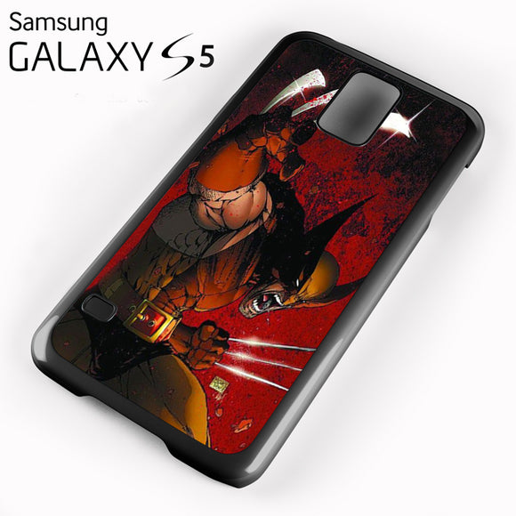 Wolverine Gets Angry - Samsung Galaxy S5 Case - Tatumcase