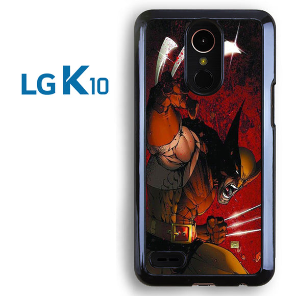 Wolverine Gets Angry - LG K10 Case - Tatumcase