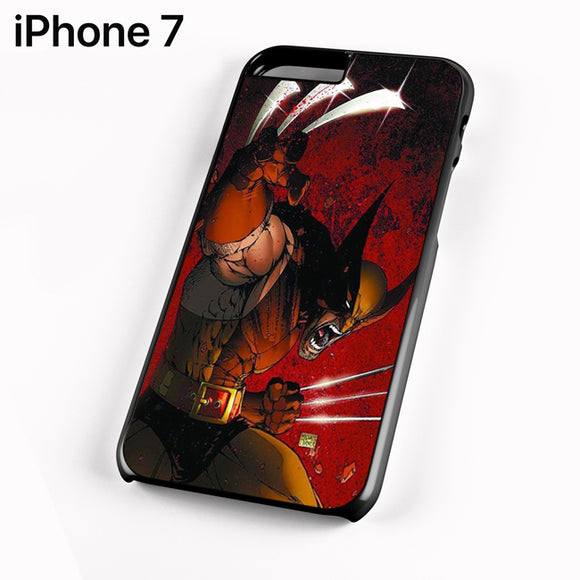 Wolverine Gets Angry - iPhone 7 Case - Tatumcase