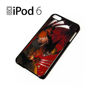 Wolverine Gets Angry - iPod 6 Case - Tatumcase