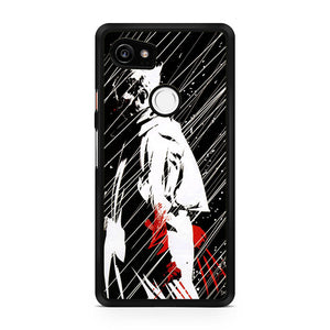 Wolverine in Heavy Rain YT, Custom Phone Case, Google Pixel 2 XL Case, Pixel 2 XL Case, Tatumcase