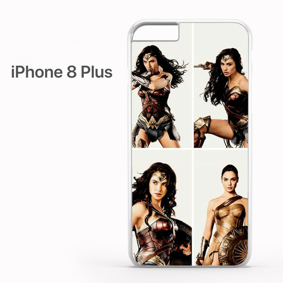 Wonder Woman Collage AB - iPhone 8 Plus Case - Tatumcase