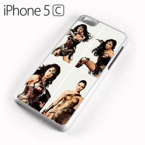Wonder Woman Collage AB - iPhone 5C Case - Tatumcase
