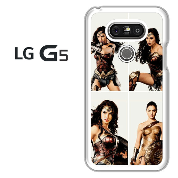 Wonder Woman Collage AB - LG G5 Case - Tatumcase