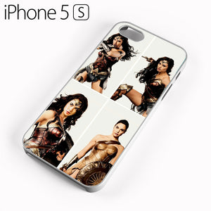 Wonder Woman Collage AB - iPhone 5 Case - Tatumcase