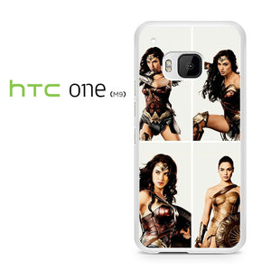 Wonder Woman Collage AB - HTC M9 Case - Tatumcase