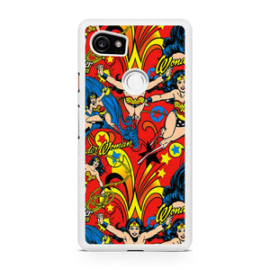 Wonder Woman Collages T, Custom Phone Case, Google Pixel 2 XL Case, Pixel 2 XL Case, Tatumcase