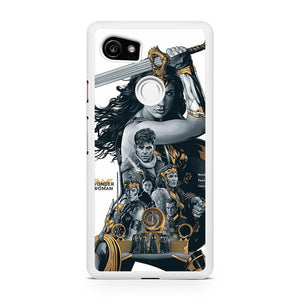 Wonder Woman Movie Cover AA, Custom Phone Case, Google Pixel 2 XL Case, Pixel 2 XL Case, Tatumcase