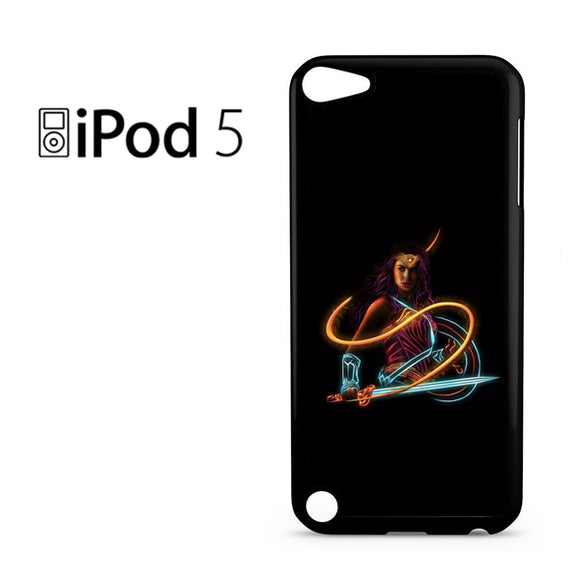 Wonder Woman Neon - iPod 5 Case - Tatumcase
