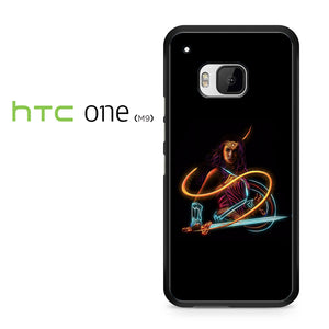 Wonder Woman Neon - HTC M9 Case - Tatumcase