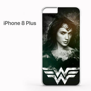 Wonder Woman in Black AB - iPhone 8 Plus Case - Tatumcase