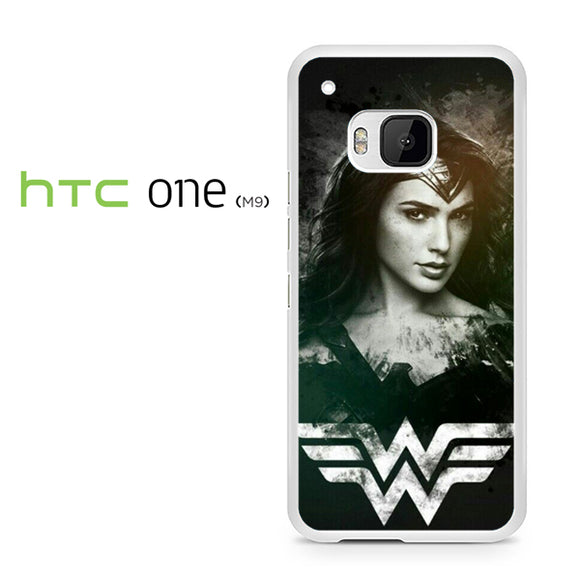 Wonder Woman in Black AB - HTC M9 Case - Tatumcase