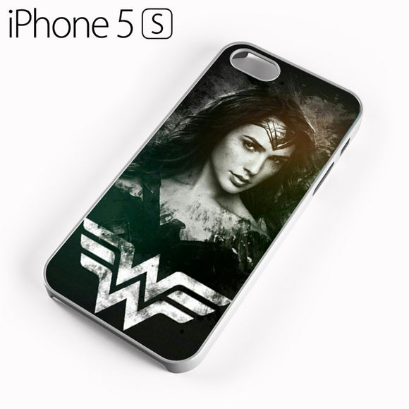 Wonder Woman in Black AB - iPhone 5 Case - Tatumcase