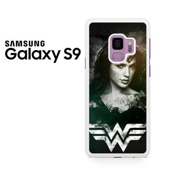 Wonder Woman in Black AB - Samsung Galaxy S9 Plus Case - Tatumcase