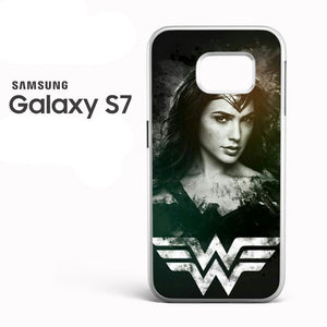 Wonder Woman in Black AB - Samsung Galaxy S7 Case - Tatumcase