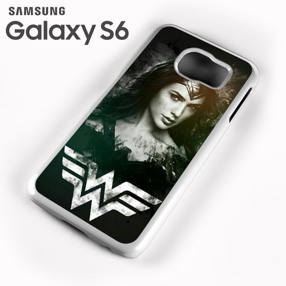 Wonder Woman in Black AB - Samsung Galaxy S6 Case - Tatumcase