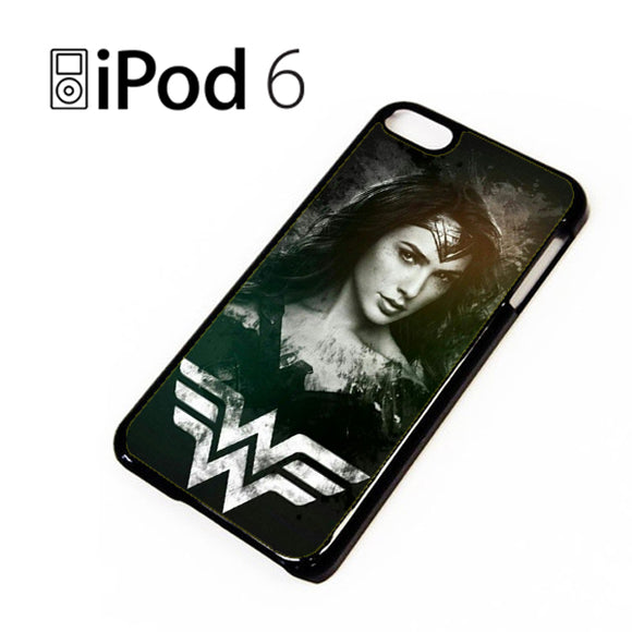 Wonder Woman in Black AB - iPod 6 Case - Tatumcase