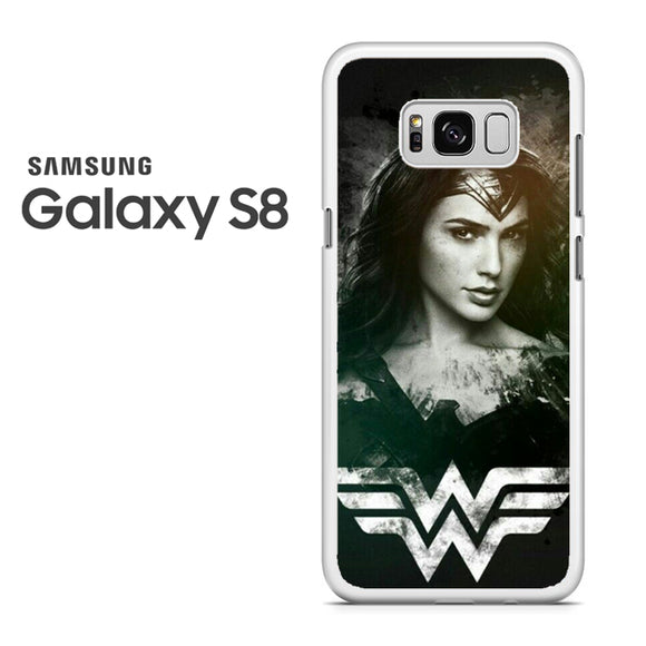 Wonder Woman in Black AB - Samsung Galaxy S8 Case - Tatumcase